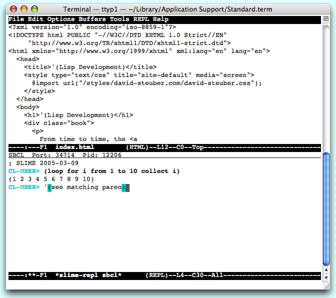 Lisp Development)